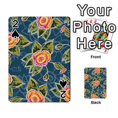 Floral Fantsy Pattern Playing Cards 54 Designs  by DanaeStudio