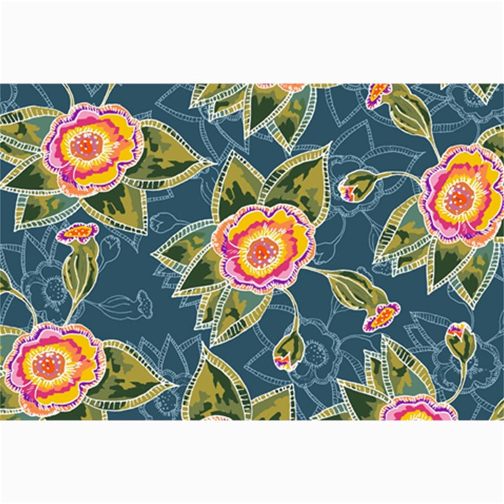 Floral Fantsy Pattern Collage Prints