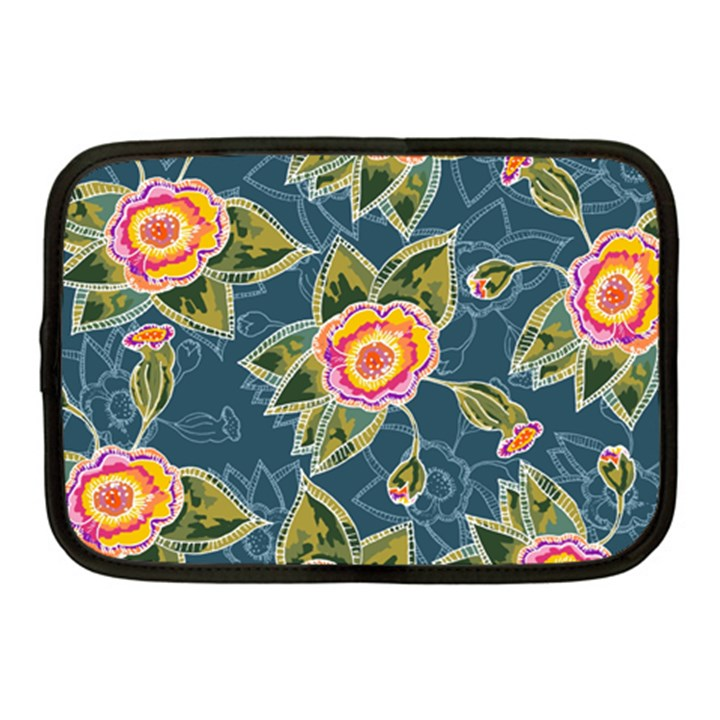 Floral Fantsy Pattern Netbook Case (Medium)