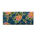 Floral Fantsy Pattern Hand Towel Front