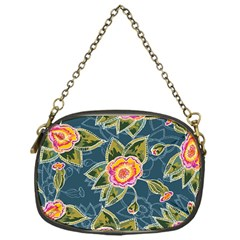 Floral Fantsy Pattern Chain Purses (one Side)  by DanaeStudio