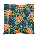 Floral Fantsy Pattern Standard Cushion Case (Two Sides)