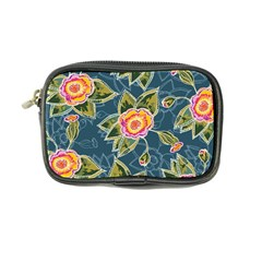 Floral Fantsy Pattern Coin Purse by DanaeStudio