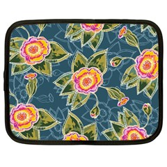 Floral Fantsy Pattern Netbook Case (xl)  by DanaeStudio