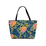 Floral Fantsy Pattern Shoulder Handbags Front
