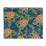 Floral Fantsy Pattern Cosmetic Bag (XL)