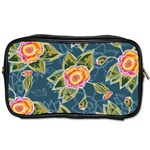 Floral Fantsy Pattern Toiletries Bags Front