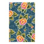 Floral Fantsy Pattern Shower Curtain 48  x 72  (Small)  42.18 x64.8 Curtain