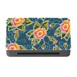 Floral Fantsy Pattern Memory Card Reader with CF Front
