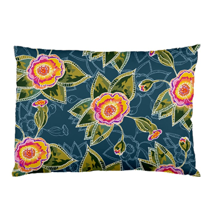 Floral Fantsy Pattern Pillow Case (Two Sides)