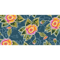 Floral Fantsy Pattern You Are Invited 3d Greeting Card (8x4)