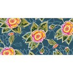 Floral Fantsy Pattern YOU ARE INVITED 3D Greeting Card (8x4) Back