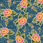 Floral Fantsy Pattern SORRY 3D Greeting Card (8x4) Inside