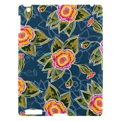Floral Fantsy Pattern Apple Ipad 3/4 Hardshell Case by DanaeStudio