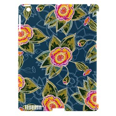 Floral Fantsy Pattern Apple Ipad 3/4 Hardshell Case (compatible With Smart Cover) by DanaeStudio