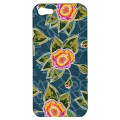 Floral Fantsy Pattern Apple Iphone 5 Hardshell Case by DanaeStudio