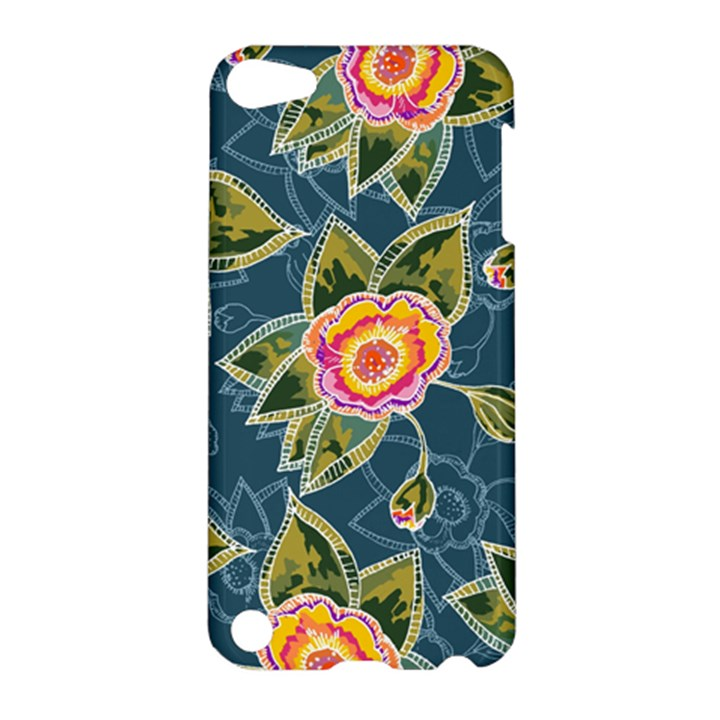 Floral Fantsy Pattern Apple iPod Touch 5 Hardshell Case
