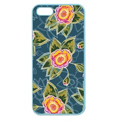 Floral Fantsy Pattern Apple Seamless Iphone 5 Case (color)