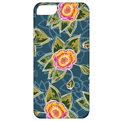 Floral Fantsy Pattern Apple Iphone 5 Classic Hardshell Case by DanaeStudio