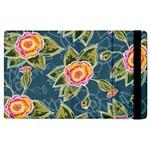Floral Fantsy Pattern Apple iPad 2 Flip Case