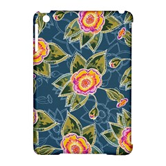 Floral Fantsy Pattern Apple Ipad Mini Hardshell Case (compatible With Smart Cover) by DanaeStudio