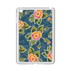 Floral Fantsy Pattern Ipad Mini 2 Enamel Coated Cases