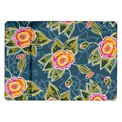 Floral Fantsy Pattern Samsung Galaxy Tab 10 1  P7500 Flip Case by DanaeStudio