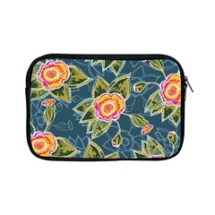 Floral Fantsy Pattern Apple Ipad Mini Zipper Cases by DanaeStudio