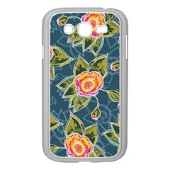 Floral Fantsy Pattern Samsung Galaxy Grand Duos I9082 Case (white) by DanaeStudio
