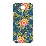 Floral Fantsy Pattern Samsung Galaxy S4 I9500/I9505  Hardshell Back Case Front