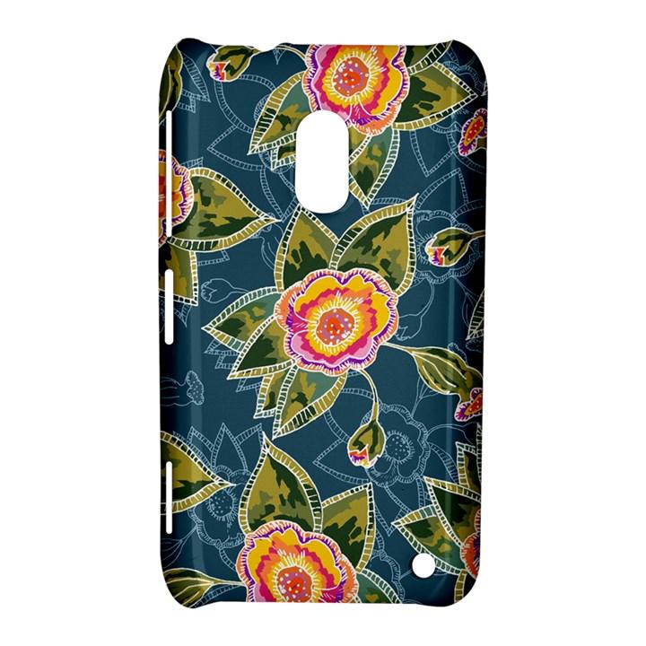 Floral Fantsy Pattern Nokia Lumia 620