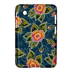 Floral Fantsy Pattern Samsung Galaxy Tab 2 (7 ) P3100 Hardshell Case