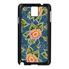 Floral Fantsy Pattern Samsung Galaxy Note 3 N9005 Case (black)