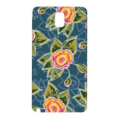 Floral Fantsy Pattern Samsung Galaxy Note 3 N9005 Hardshell Back Case