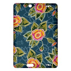 Floral Fantsy Pattern Amazon Kindle Fire Hd (2013) Hardshell Case by DanaeStudio