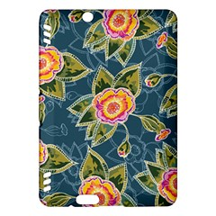 Floral Fantsy Pattern Kindle Fire Hdx Hardshell Case by DanaeStudio