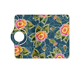 Floral Fantsy Pattern Kindle Fire Hd (2013) Flip 360 Case by DanaeStudio