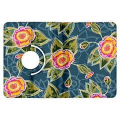 Floral Fantsy Pattern Kindle Fire Hdx Flip 360 Case by DanaeStudio
