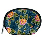 Floral Fantsy Pattern Accessory Pouches (Medium)  Front