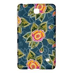 Floral Fantsy Pattern Samsung Galaxy Tab 4 (7 ) Hardshell Case  by DanaeStudio