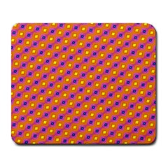 Vibrant Retro Diamond Pattern Large Mousepads