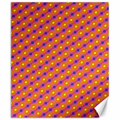 Vibrant Retro Diamond Pattern Canvas 20  x 24