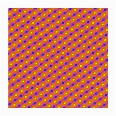 Vibrant Retro Diamond Pattern Medium Glasses Cloth (2-Side)
