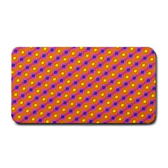 Vibrant Retro Diamond Pattern Medium Bar Mats