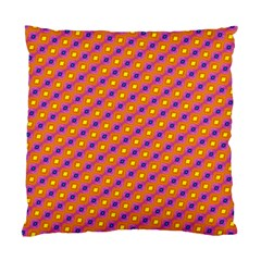 Vibrant Retro Diamond Pattern Standard Cushion Case (One Side)