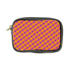 Vibrant Retro Diamond Pattern Coin Purse by DanaeStudio