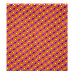 Vibrant Retro Diamond Pattern Shower Curtain 66  x 72  (Large)  58.75 x64.8 Curtain