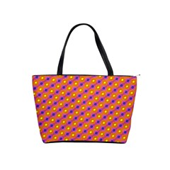 Vibrant Retro Diamond Pattern Shoulder Handbags by DanaeStudio