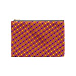 Vibrant Retro Diamond Pattern Cosmetic Bag (Medium)  Front