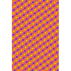 Vibrant Retro Diamond Pattern 5.5  x 8.5  Notebooks